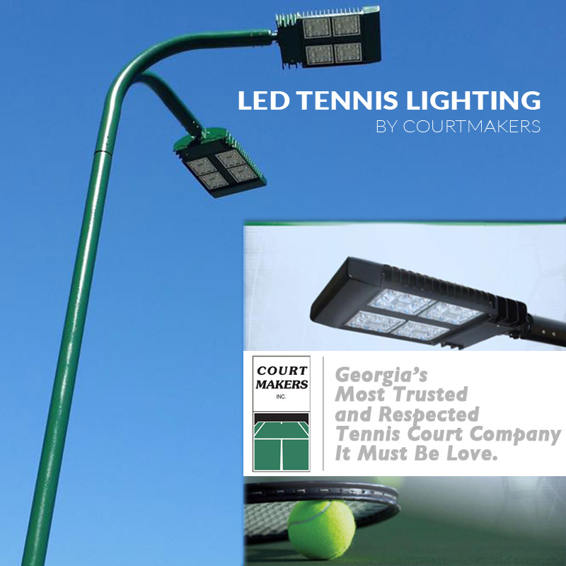 Tennis Court LED Lighting