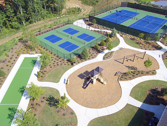 Pickleball, Bocce Ball, Tennis, Basketball and all other sports surfaces