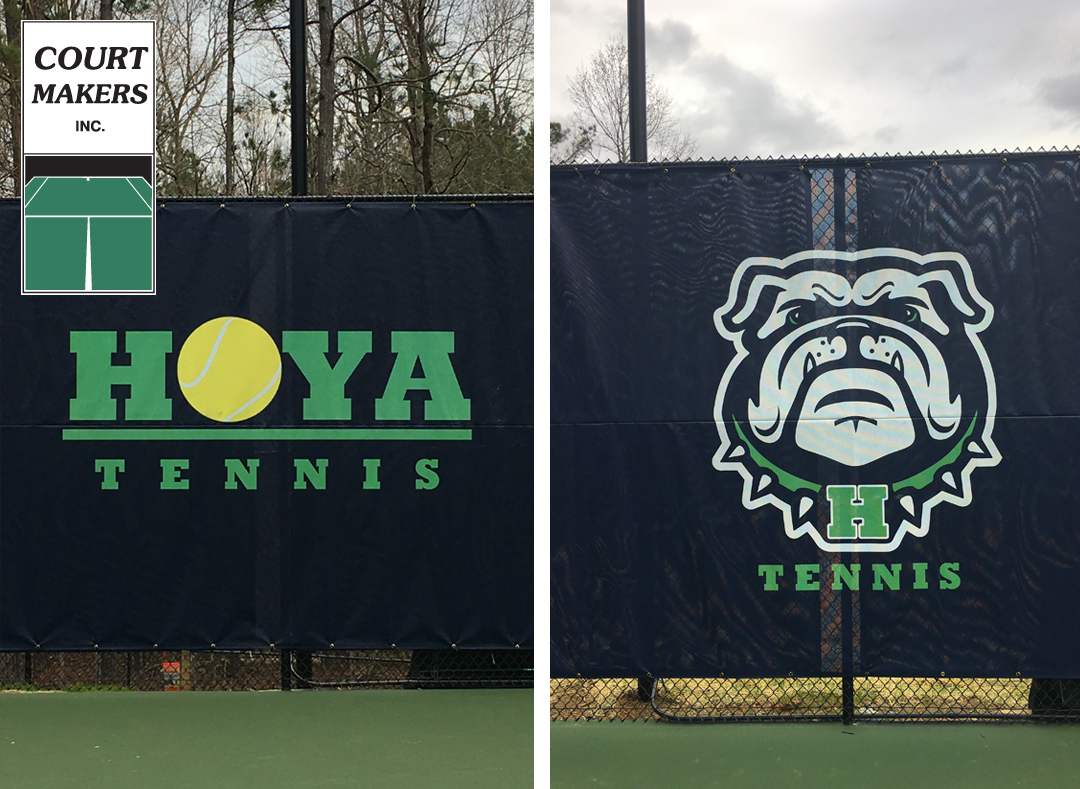 local custom tennis windscreens